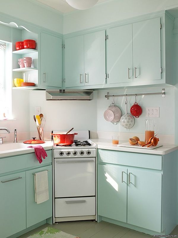 Retro Kitchens how to create a funky, retro kitchen
