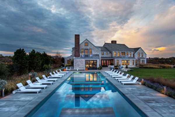 A custom family home in Nantucket that follows its own rules