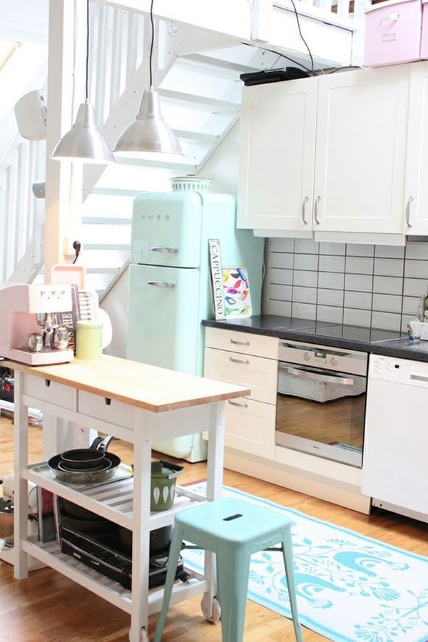 Amazing Sweet Like Candy: Add A Pop Of Pastel To Your Kitchen Images