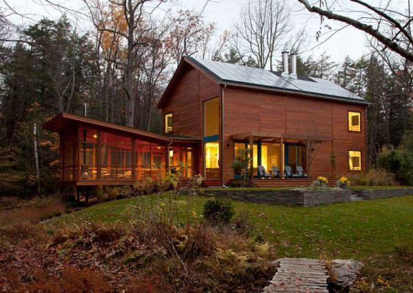 A Modern Weekend Retreat In New York That Takes Maximum Advantage Of Its Location
