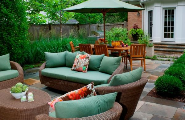 Stylish Wicker Furniture, Great For Patios And Other Outdoor Spaces