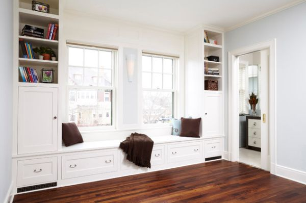 Window Seating 30 window seats – cozy, space-saving and great for admiring the