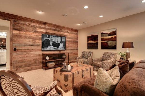 How To Maximize Your Wall Power. Rustic Interior Wall Idea