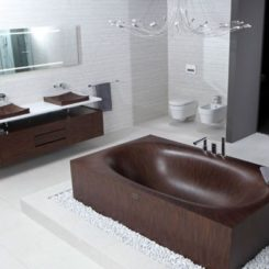 Beautiful Elegant, Chic, Unconventional Wooden Bathtubs