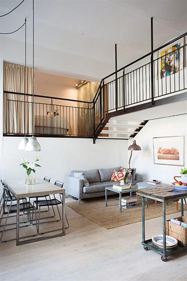 Nordic meets industrial in a small loft - Decoracion estilo loft ...