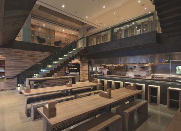 The Momofuku Restaurant A Stunning Example Of
