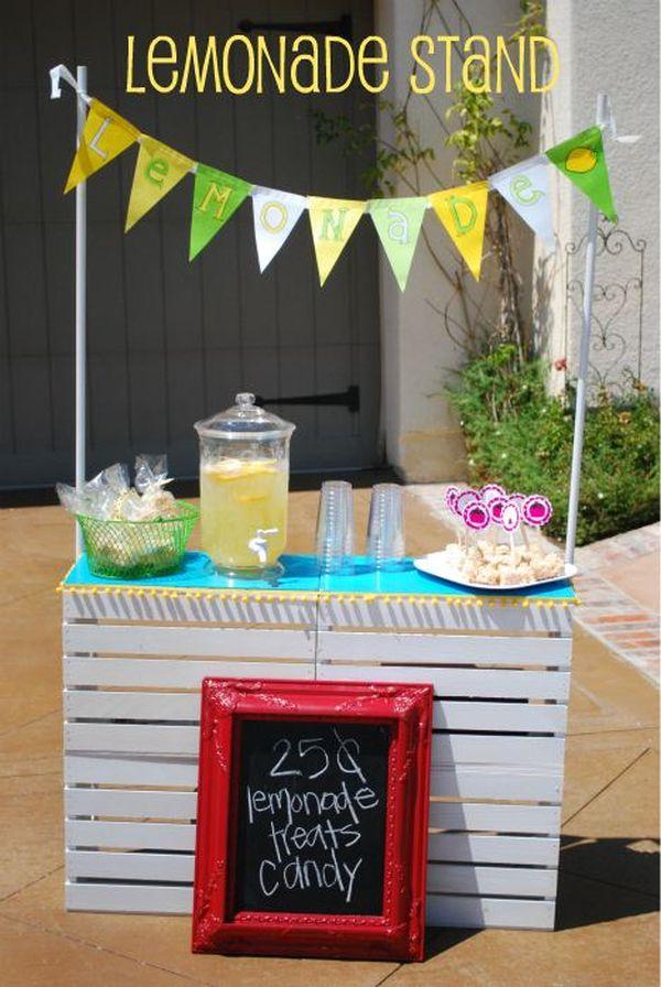 15 Beautiful Lemonade Stand Designs A Great Symbol Of Summer