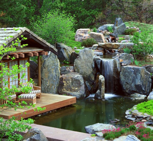 View in gallery ... - 25 Backyard Waterfalls To Include In Your Landscaping