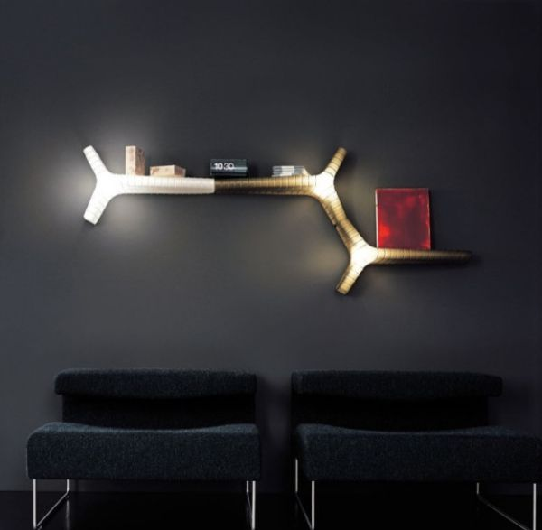 Corner Wall Mount Lamp : Wall Lighting Ideas Suited To Modern Living Rooms