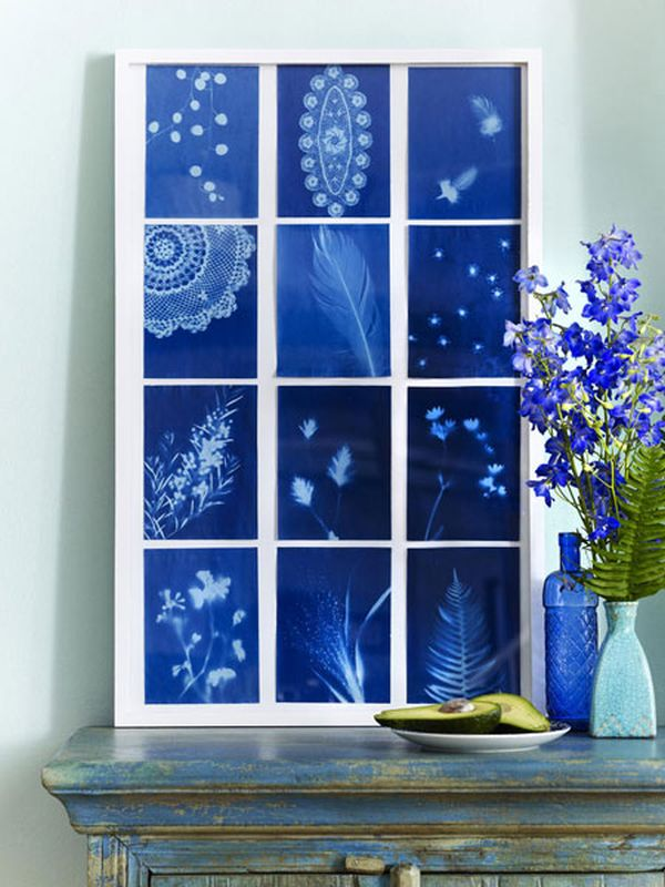 Use Blue Flowers To Create A Mediterranean Or Sea Inspired Décor