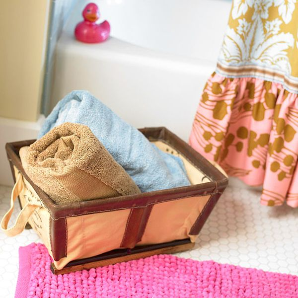 Towels Storage – 24 Ideas To Spruce Up Your Bathroom