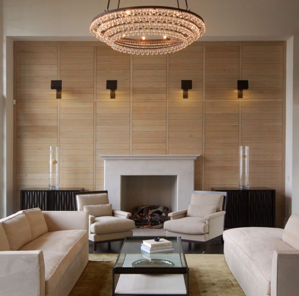 Light Filled Contemporary Living Rooms: Wall Lighting Ideas Suited To Modern Living Rooms