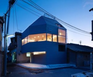 An unusual shape for a house limited by regulations