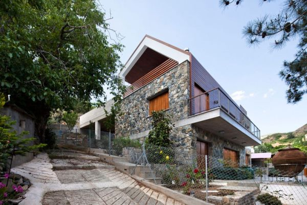 The Serafides House Traditional On The Outside And