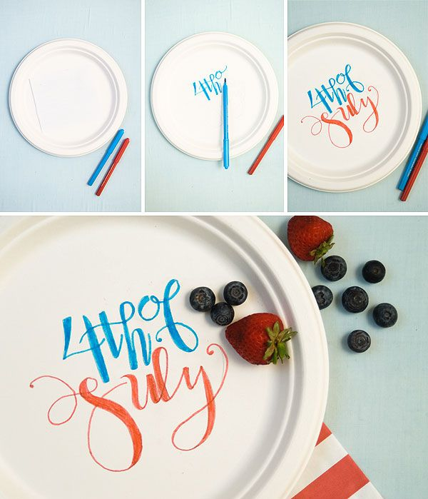Home Decorating Trends u2013 Homedit & 25 Amazing 4th of July Craft Ideas