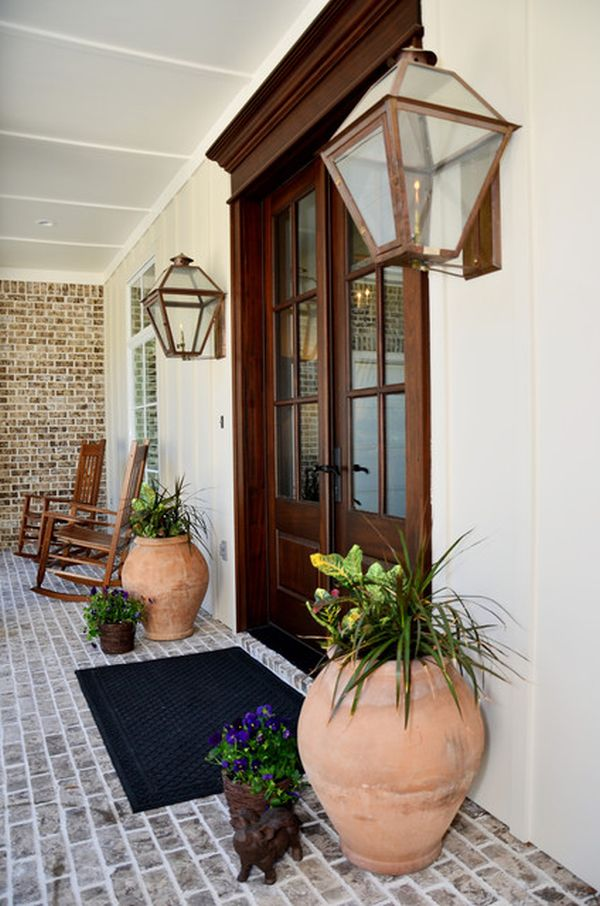 Superior 35 Front Door Flower Pots For A Good First Impression Ideas