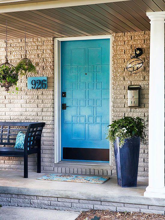Front Door Flower Pots For A Good First Impression - Front door planters