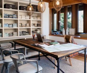 Lovely Industrial Home Office Designs For A Simple And Professional Look