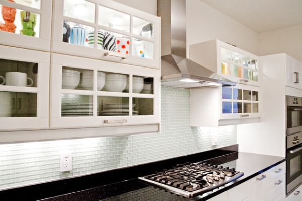 what to display in glass kitchen cabinets a mix of functionality and style in the form of glass 28346