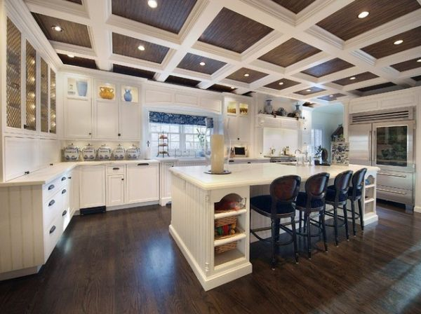 Contemporary kitchen design trends - Revisit Traditional Architecture By Opting For Coffered