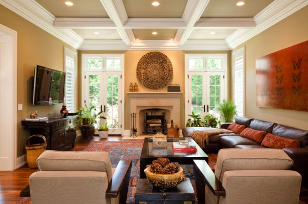 Revisit traditional architecture by opting for coffered for Holzdecken modern weiay