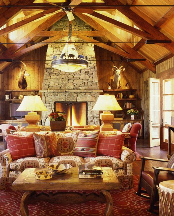 cabin living room decor cabin fever how to achieve the cabin look for cozy 15486