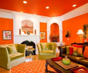 The Underused Interior Design Color – How To Use Orange Indoors