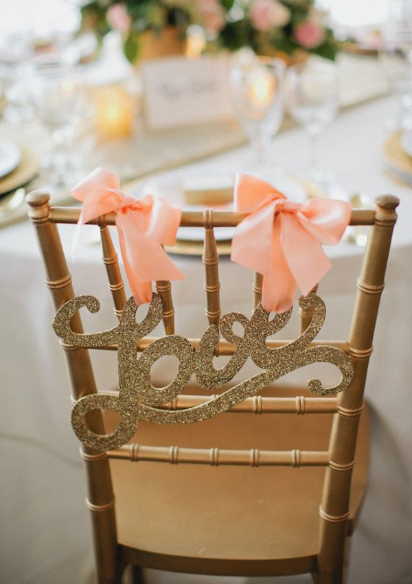 Awesome 11 DIY Chair Designs For The Bride And Groom