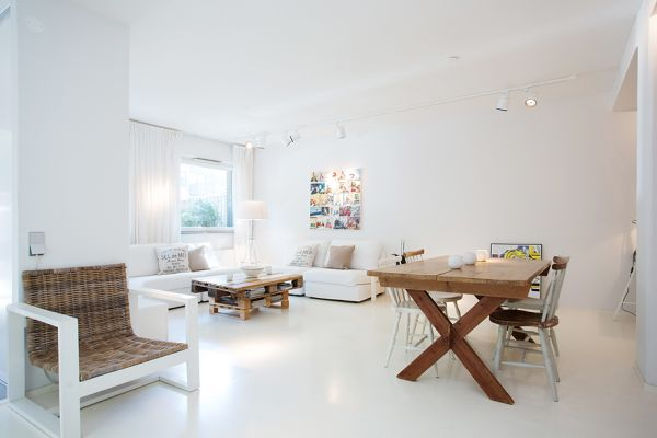 Nordic Flat Garnished With Furniture Made From Recycled ...