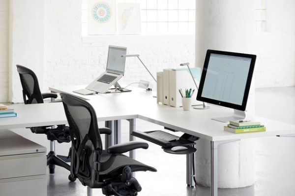 Task desks that will help you work in your home office for Office design help