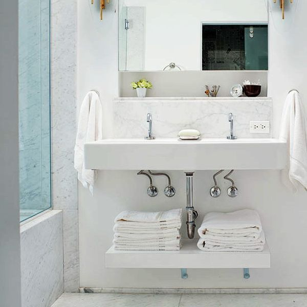 under the sink - Bathroom Towel Storage