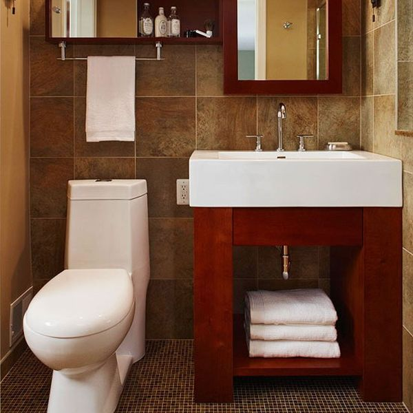10 Amazing Ideas To Utilize The Space Under The Sink For Storage: 24 Ideas To Spruce Up Your Bathroom