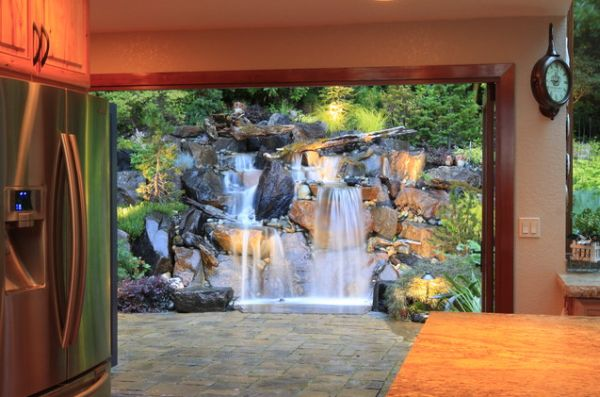 ... View in gallery ... & 25 Backyard Waterfalls To Include In Your Landscaping