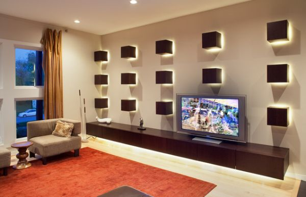 Living Room Ideas With Tv On Wall