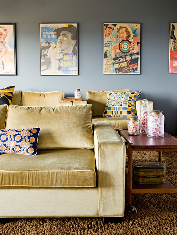 Decorate Your Home with Vintage Poster Spending Little