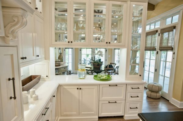 Glass Cabinet Door Styles a mix of functionality and style in the form of glass kitchen cabinets