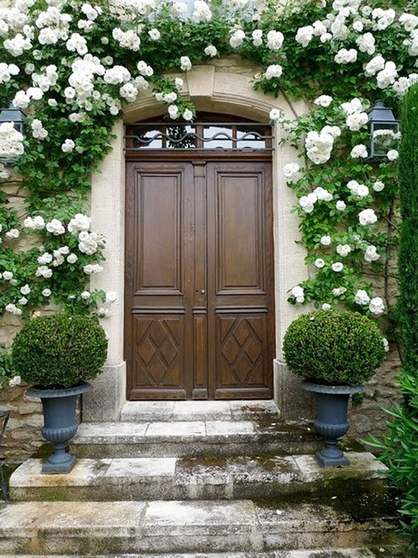 Elegant 35 Front Door Flower Pots For A Good First Impression