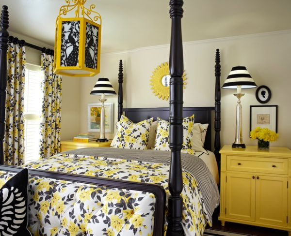 Bee Inspired - How To Use Yellow And Black Together In Your Home