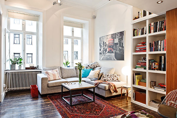 A Small Apartment With A Smart Interior Design That Fulfills All ...