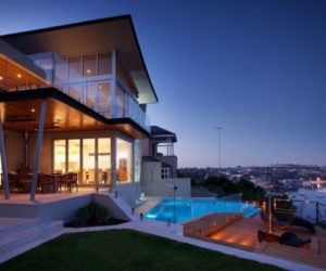 Contemporary Residence Offering Spectacular Views From Terrace