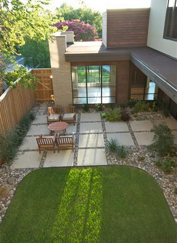 5 fantastic patio flooring ideas for Decorate small patio area