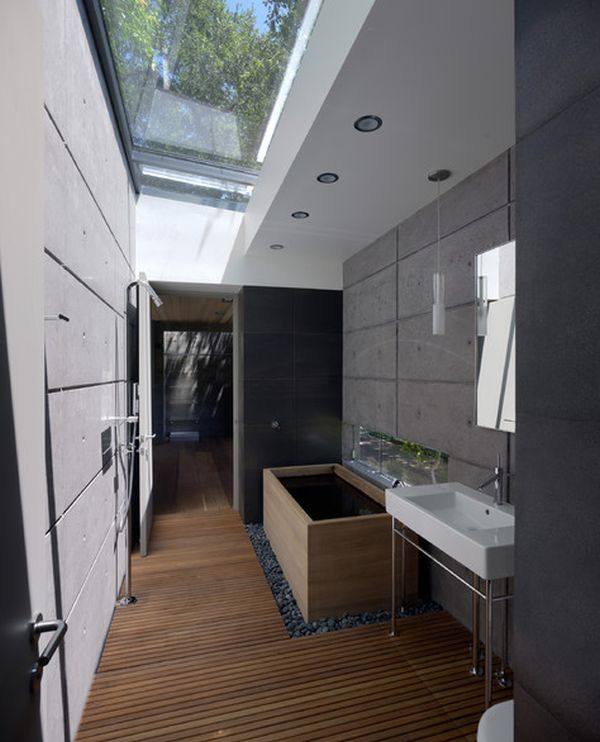 Charming Six Stunning Uses Of Skylights In Bathrooms