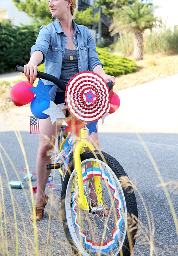 Ultimate 4th of july decoration and craft ideas for Bike decorating ideas