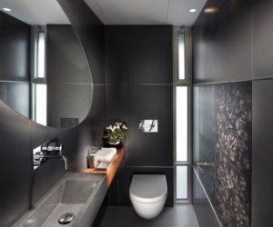 Excellent Black Bathroom Design Ideas
