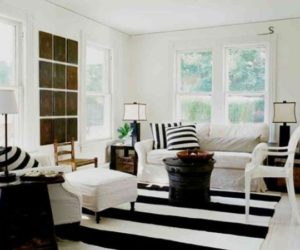 ... Decorating With Bold Black And White Stripes: Ideas U0026 Inspiration