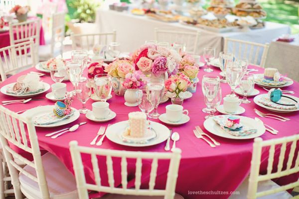 View In Gallery If You Have A Bold Pink Table