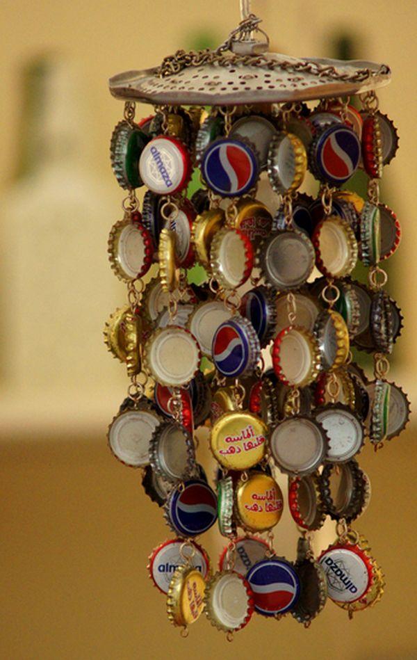 40 Ways To Recycle Bottle Caps Impressive Bottle Cap Decorations