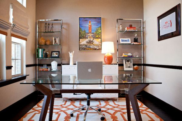 Creative Home Office Ideas: Workspace Magic: Creative But Practical Desk Ideas