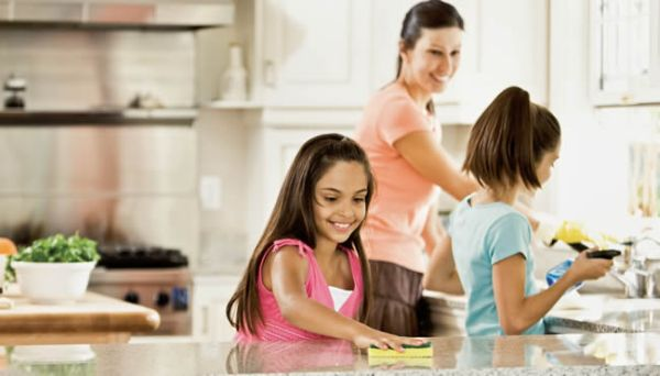 Image result for kids cleaning the home images