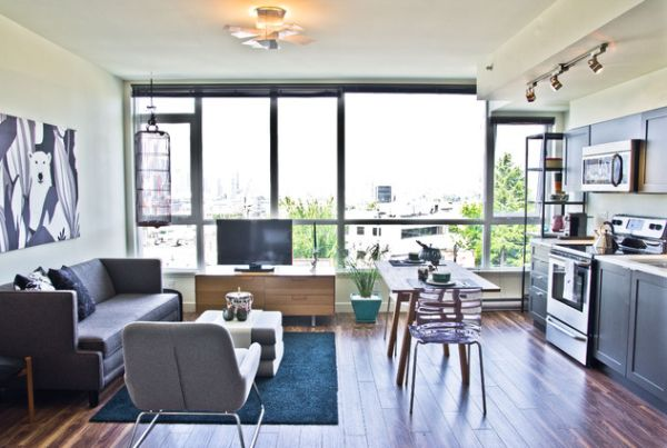 View In Gallery. This Apartment Has An Eclectic Interior Design.